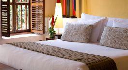 Enchanting Travels - Kolumbien Reisen - Cartagen - Hotel Quadrifolio - Schlafzimmer