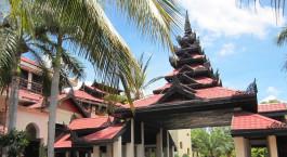 Enchanting Travels - Asia Tours - Myanmar - Amazing Bagan Hotel - exterior