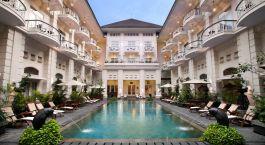 Auu00dfenansicht von The Phoenix Hotel Yogyakarta, Indonesien