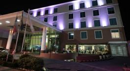 Auu00dfenansicht von Go Inn Manaus Hotel in Manaus, Brasilien
