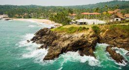 Auu00dfenansicht im Hotel Anantara Peace Haven Tangalle Resort, Tangalle in Sri Lanka