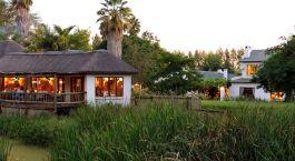 Auu00dfenansicht vom Hotel Woodall Country House in Eastern Cape Wildschutzgebiete, Su00fcdafrika