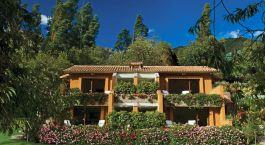 Hotel view on Belmond Rio Sagrado Hotel, Peru, South America