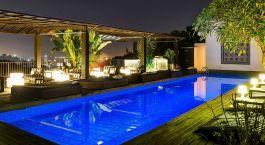 Pool, Hotel Santa Teresa, Rio de Janeiro, Brazil, South America