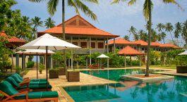 Auu00dfenansicht von Hotel Serene Pavilions, Wadduwa, Sri Lanka
