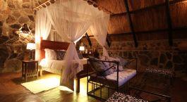 Zimmer im Big Cave Camp in Matobo Nationalpark, Simbabwe
