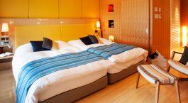 Zimmer im Hotel Honjin Hiranoya Kachoan Ryokan im Takayama in Japan