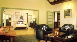 Zimmer im Hotel Aanavilasam Luxury Plantation, Thekkady in Su00fcdindien
