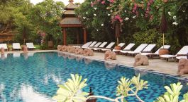Enchanting Travels - Asia Tours - Myanmar-Bagan-Tharabar Gate - swimming pool