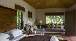 Schlafzimmer El Silencio Lodge Bajos del Toro Costa Rica