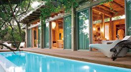 Pool im Hotel Kapama Karula Camp in Kru00fcger, Su00fcdafrika