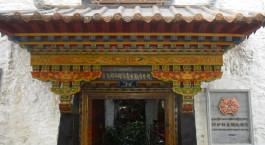 Auu00dfenansicht von Lingtsang Boutique Hotel in Lhasa, Tibet