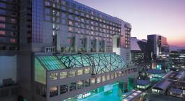 Auu00dfenansicht vom Hotel Granvia Kyoto in Japan