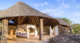 Auu00dfenansicht von Sabuk Lodge in Laikipia - Community Reserves, Kenia