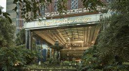 Auu00dfenansicht im Hotel The Royal Surakarta Heritage, Solo in Indonesien