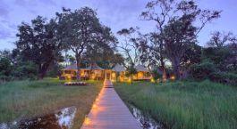 Weg zum Xaranna Camp in Okavango Delta, Botswana