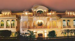 Auu00dfenansicht von Shahpura House Jaipur, Nordindien