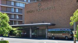 Auu00dfenansicht von Kyoto Tokyu Hotel in Kyoto, Japan