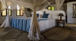 Doppelzimmer der The Tides Lodge in Pangani, Tansania