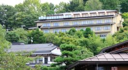 Auu00dfenansicht im Hotel Hoshokaku Takayama Ryokan, Takayama, Japan
