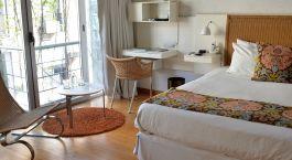 Schlafzimmer in der Casa Calma in Buenos Aires, Argentinien