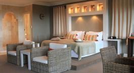 Doppelzimmer im De Tafelberg Guesthouse Hotel in Kapstadt, Su00fcdafrika