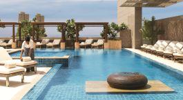 Swimmingpool im Four Seasons Mumbai Hotel in Mumbai, Zentral- & Westindien