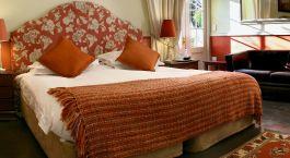 Schlafzimmer im Hotel Klein Oliphants Hoek Winelands in Su00fcdafrika