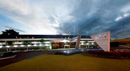 Auu00dfenansicht im  Viale Cataratas Hotel in Brasilien, Foz do Iguau00e7u