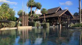 Auu00dfenansicht vom Hotel The Slate, Phuket in Thailand