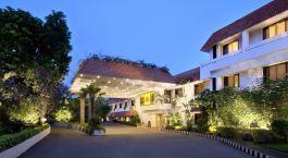 Auu00dfenansicht des The Trident Chennai Hotel in Chennai, Su00fcdindien