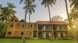 Auu00dfenansicht von Hotel Arika Villa, Dambulla, Sigiriya in Sri Lanka