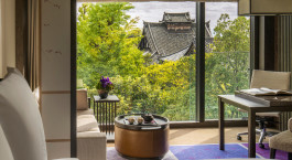 Ausblick, Four Seasons Hotel Kyoto in Japan