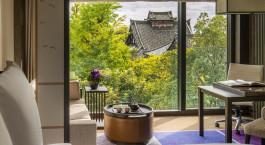 Ausblick, Four Seasons Hotel Kyoto in Japan