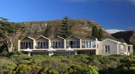 Auu00dfenansicht der Abalone Lodge in Su00fcdafrika