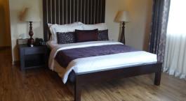 Schlafzimmer im Hotel Clove Villa, Kandy Sri Lanka