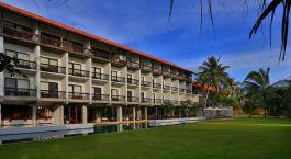 Auu00dfenansicht des Temple Tree Resort & Spa in Bentota, Sri Lanka