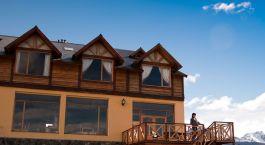 Auu00dfenansicht von Hotel Tierra de Leyendas, Ushuaia, Argentinien