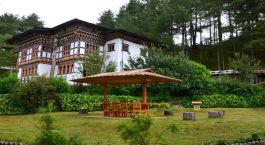 Exterior view at Rinchenling Hotel, Bhutan, Bhumthang