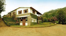 Auu00dfenansicht der The Windermere Estate in Munnar, Su00fcdindien