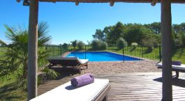 Pool im Estancia La Sofia Boutique Hotel & Polo Resort in Buenos Aires Privincia, Argentinien