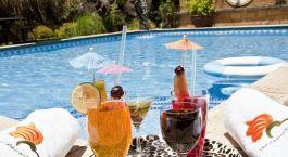 Pool im Hotel The African Tulip, Arusha, Tanzania