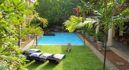 Auu00dfenansicht im Galle Fort Hotel, Galle Fort, Sri Lanka