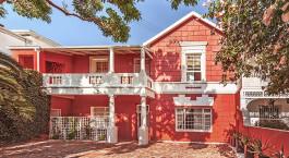 Auu00dfenansicht im Hotel Cactusberry Lodge, Kapstadt, Su00fcdafrika