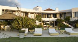 Auu00dfenansicht des Posada del Faro Hotel in Josu00e9 Ignacio, Uruguay