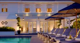 Pool im the Majestic Hotel in Kuala Lumpur, Malaysia