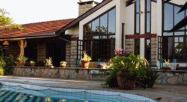 Swimmingpool im Macushla House in Nairobi, Kenia