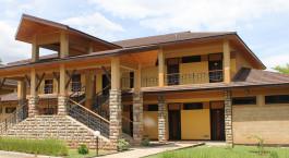 Auu00dfenansicht von Lake Bogoria Spa Resort in Lake Bogoria, Kenia