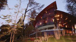 Auu00dfenansicht des Design Suites in Bariloche, Argentinien