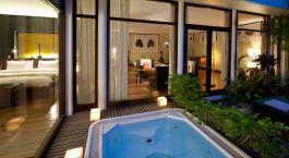 Swimming Pool im Hotel Heritage Suites, Siem Reap in Kambodscha